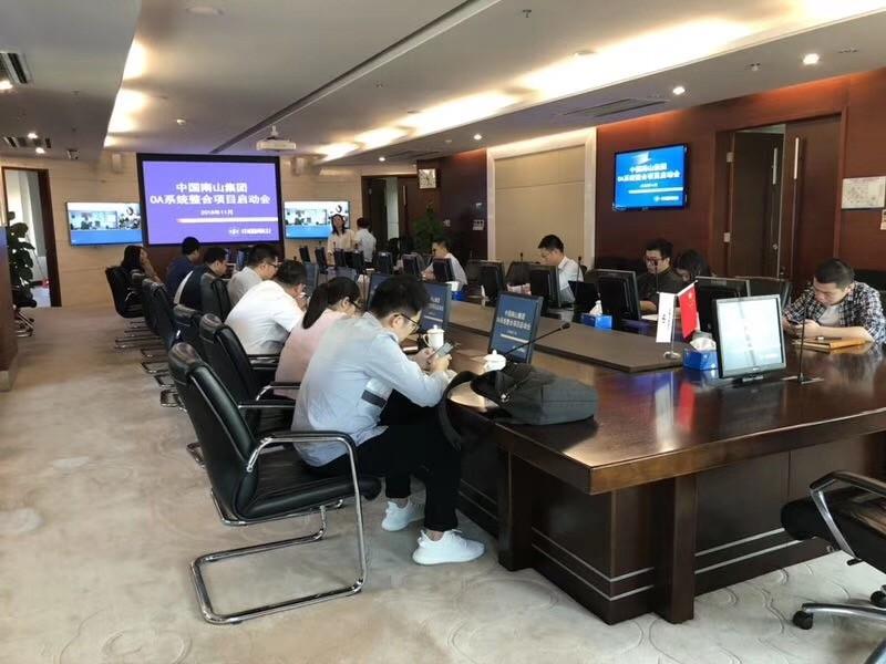 中国南山集团选择蓝凌OA,助力企业高效发展-01