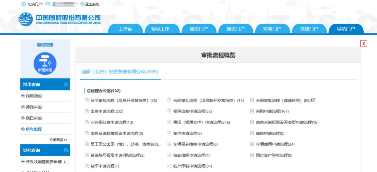 中国国旅:智慧OA支撑500强企业精细化管理_11