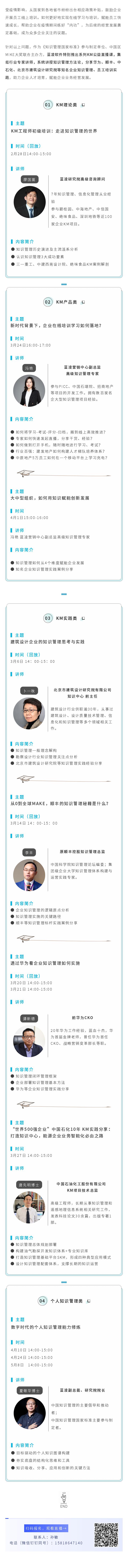 【8大KM公益直播课】华为、顺丰、中石化知识管理实践分享来啦!